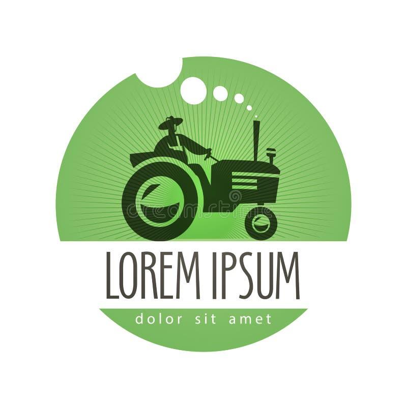 Tractor Vector Logo Design Template. Farm Or Stock Vector ...
