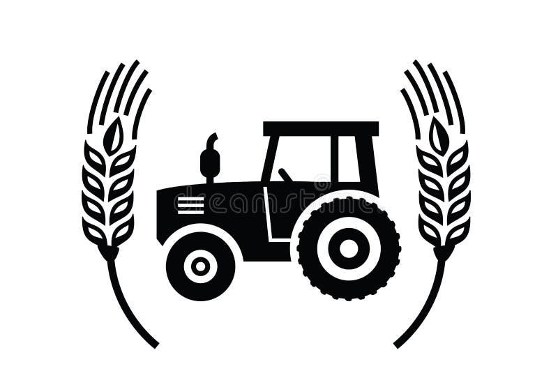 Tractorpictogram vector illustratie