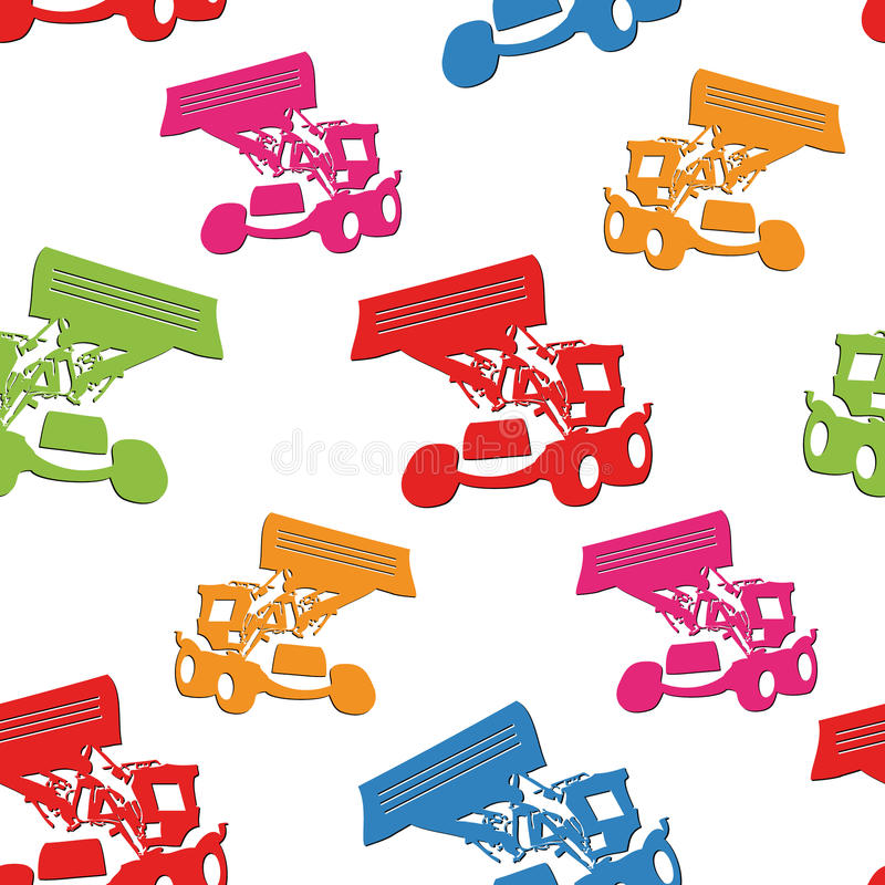 Download Tractors Seamless Royalty Free Stock Images - Image: 15870679