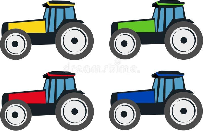 tractors stock vector illustration of design illustration 35650803