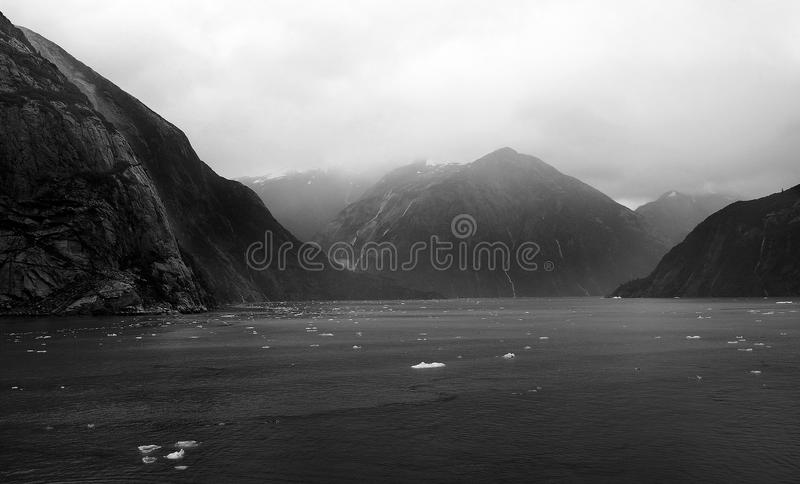 Tracy Arm Fjord arkivfoto