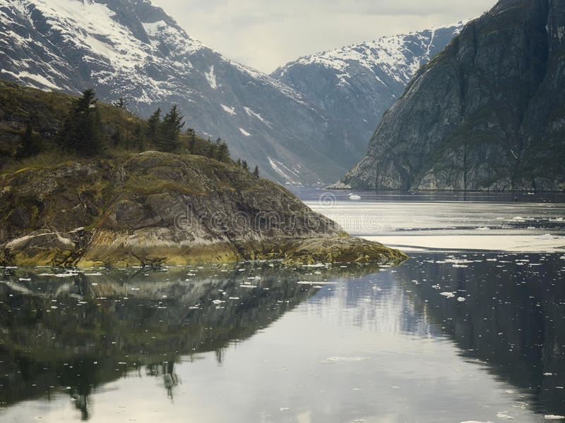 Tracy Arm Fjord, Southeast Alaska, USA stock images