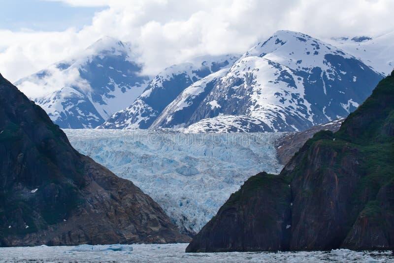 tracy för sawyer för armfjordglaciär royaltyfri fotografi
