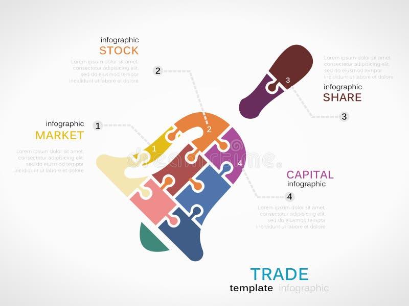 trade illustration libre de droits
