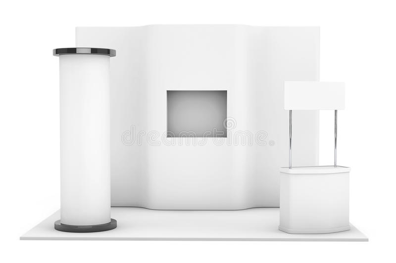 Exhibition Stand Wallpaper : Trade commercial exhibition stand d rendering stock