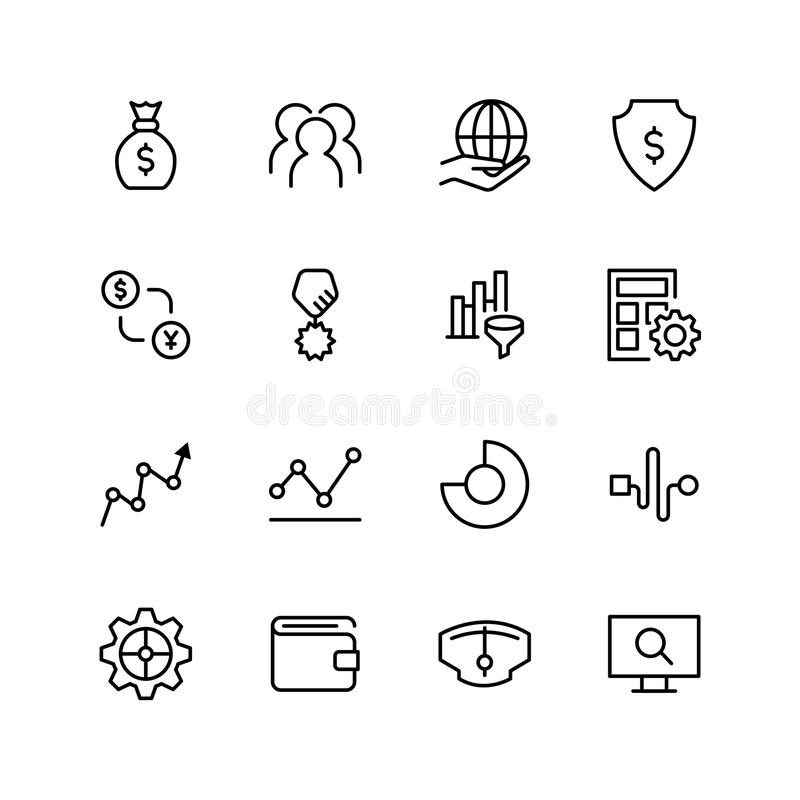 Trade Flat Icon Stock Vector Illustration Of Data Icon 110456235