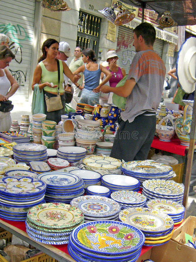 Free Trade Of Ceramics Stock Images - 53558284