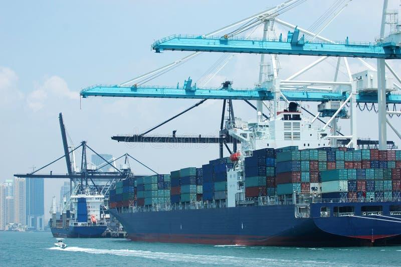 Trade Port stock photography