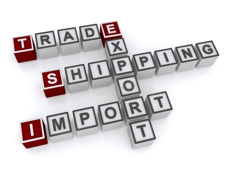 Trade vector illustration