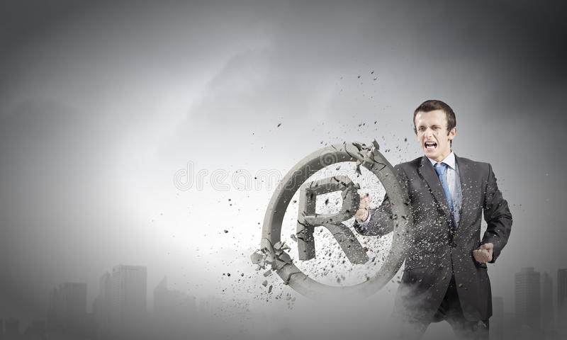 Download Trademark стоковое изображение. изображение насчитывающей подряд - 41652301