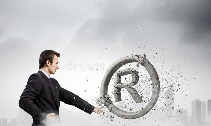 trademark стоковое изображение