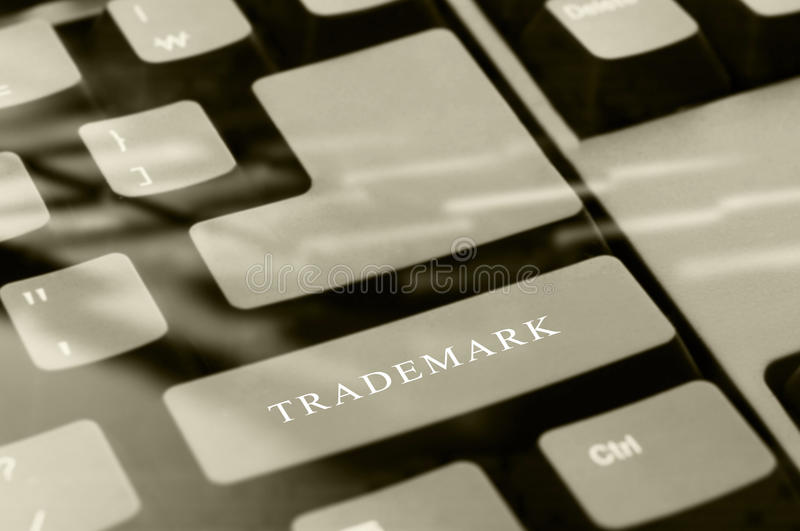 trademark стоковые изображения rf