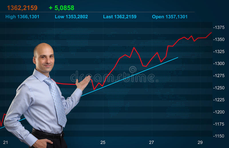 Download Trader stock photo. Image of background, investor, commerce - 41377202