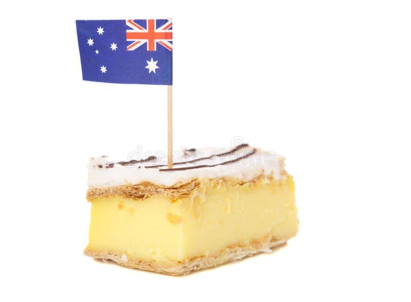 Tradição australiana da sobremesa imagem de stock royalty free