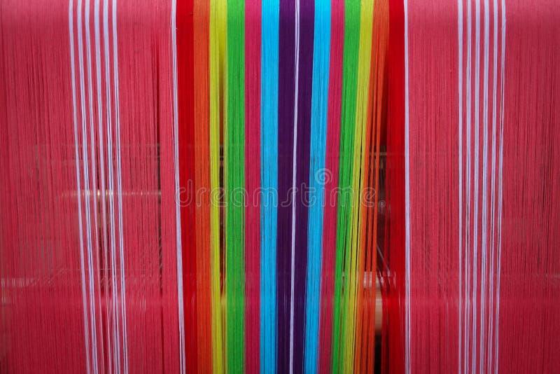 Tradição do Weave para o pano imagens de stock royalty free