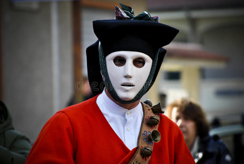 Tradições de Sardinia fotos de stock royalty free