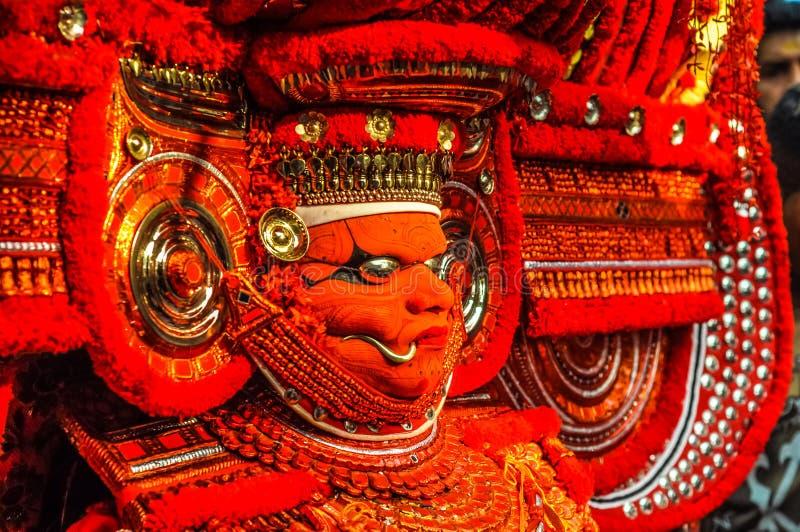 Tradición artística en Kerala foto de archivo