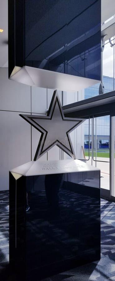Tradición del respecto de Dallas Star Cowboys TX fotos de archivo libres de regalías