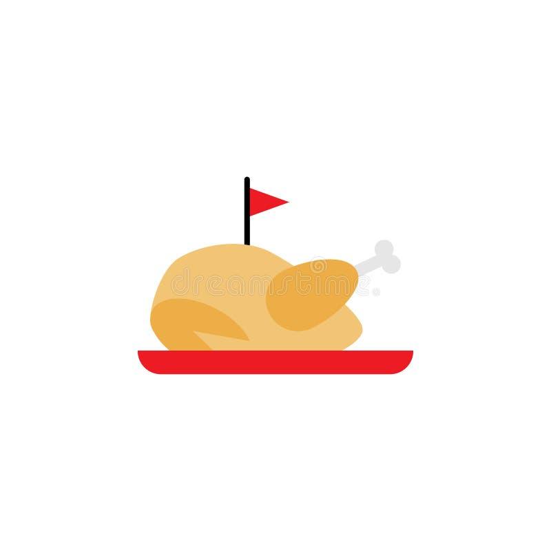 Tradicional chino, icono del pollo Elemento del ejemplo tradicional chino Icono superior del dise?o gr?fico de la calidad muestra stock de ilustración