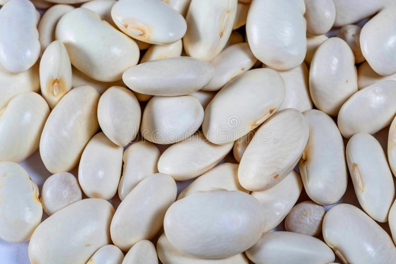 Tradicional colorido do alimento dos feijões secado imagens de stock