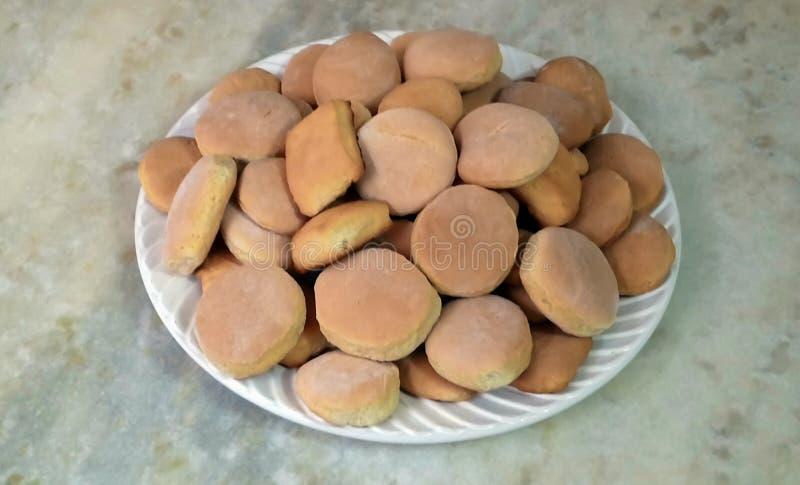 Tradicionalsan Patrick ` s eenvoudige koekjes stock foto's
