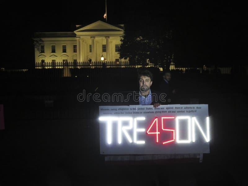 Tradimento alla Casa Bianca  fotografia stock libera da diritti