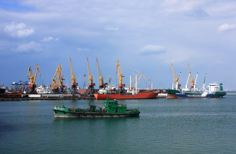 Trading Port Royalty Free Stock Photo