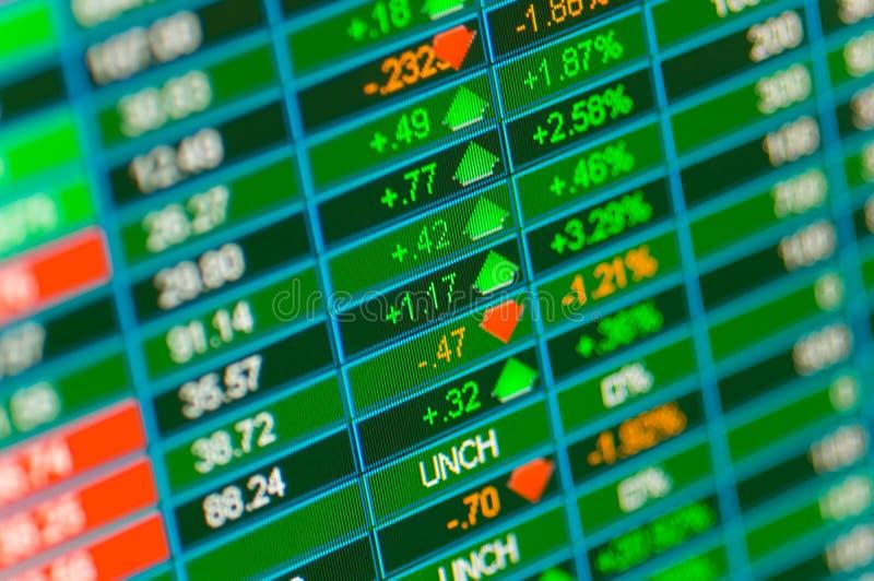 Trading Stocks royalty free stock photos