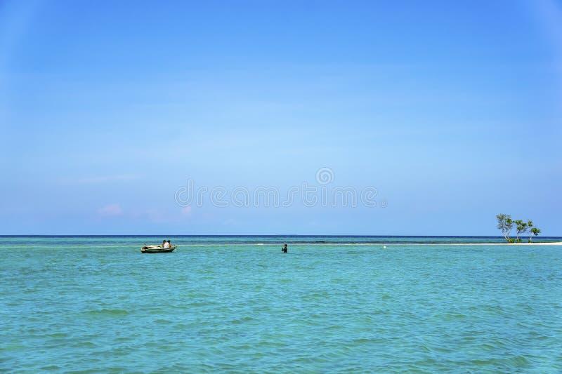 Tradional渔夫海滩 库存图片
