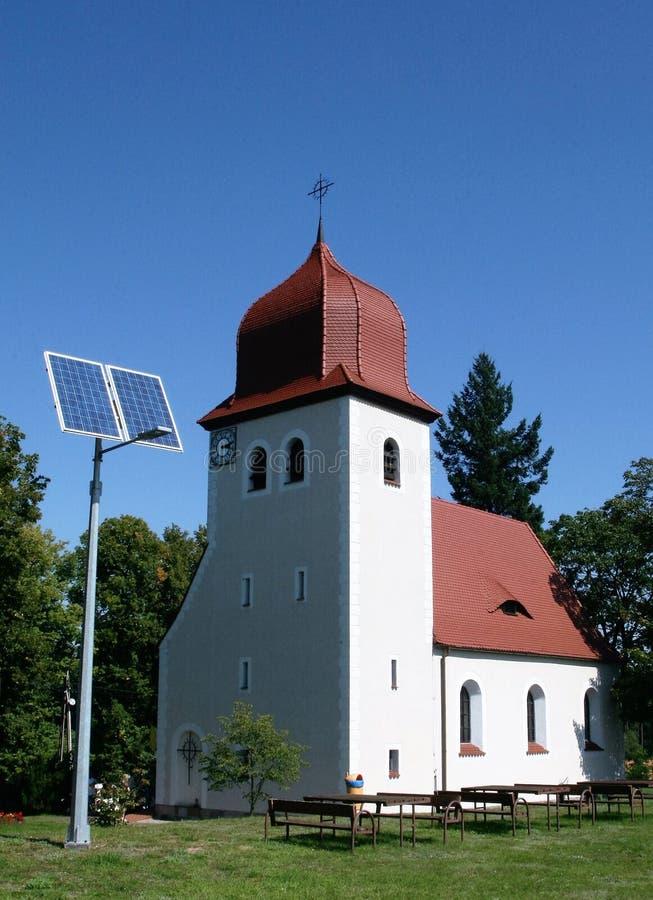 Traditie en moderne toestand in Plociczno royalty-vrije stock afbeeldingen