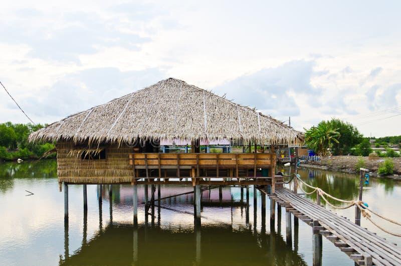 Traditie Thaise hut royalty-vrije stock foto