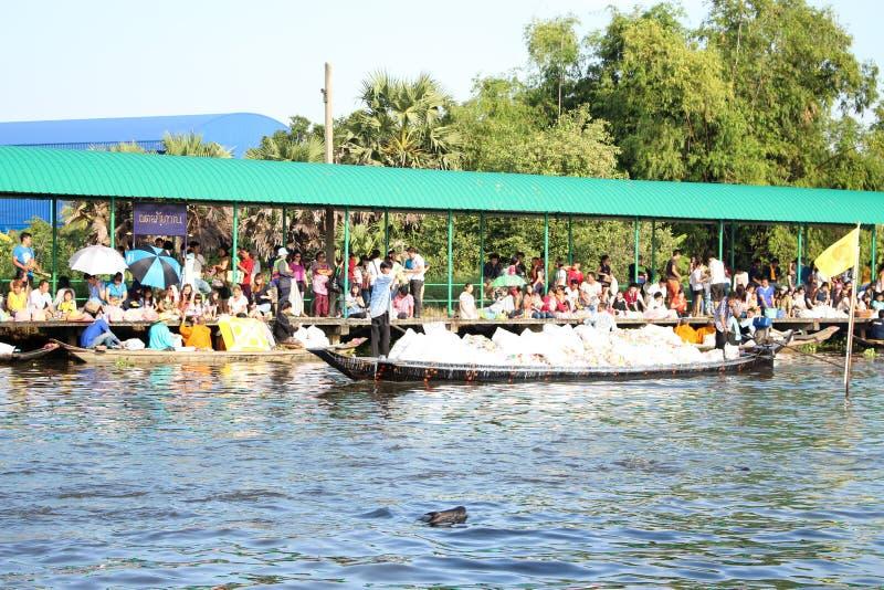 Tradition av merit till vattnet royaltyfria bilder
