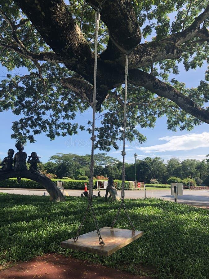 Tradition d'hamac de Malaysian photo libre de droits