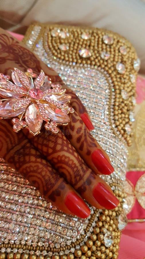 Tradition de Mehendi photos stock