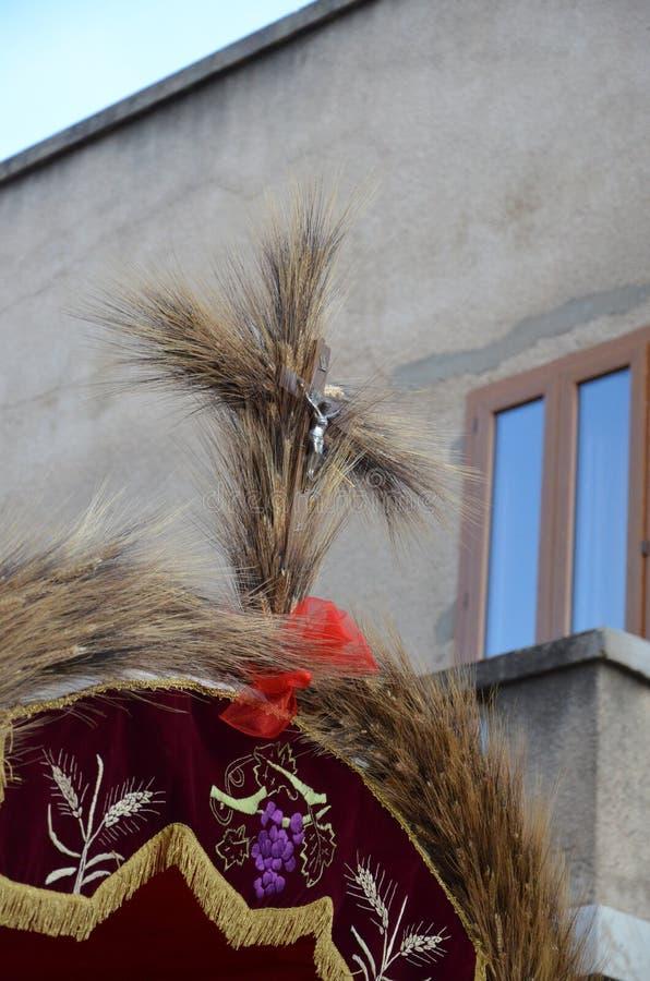 Tradition et gens de la Sardaigne photo stock