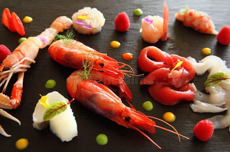 Tradition, goût et présentation des plats en cuisine italienne photo stock