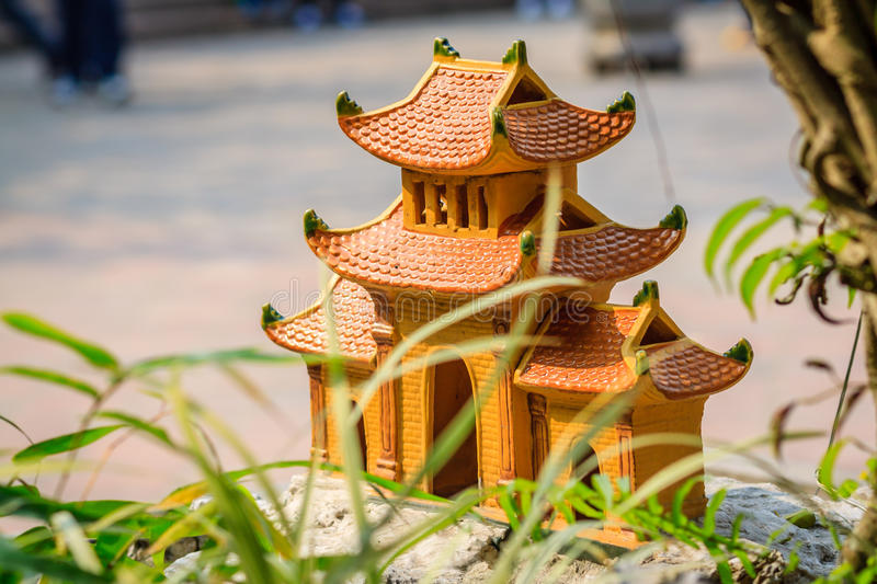 Tradition House Of Vietnam Royalty Free Stock Photography