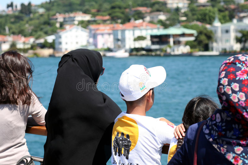 Tradition and modernity in Turkey royalty free stock images