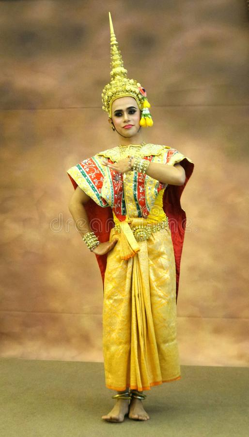 Free Tradition Thai Classical Dancing Stock Photo - 80876800