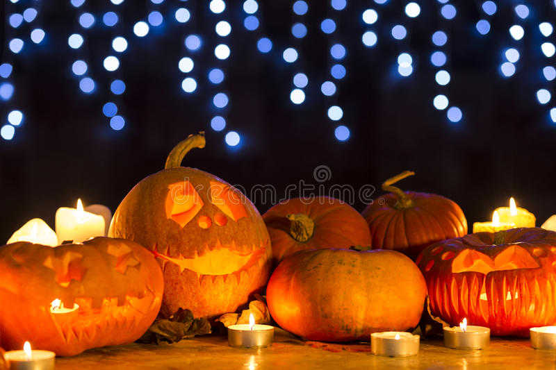 Tradition von Halloween stockfotos