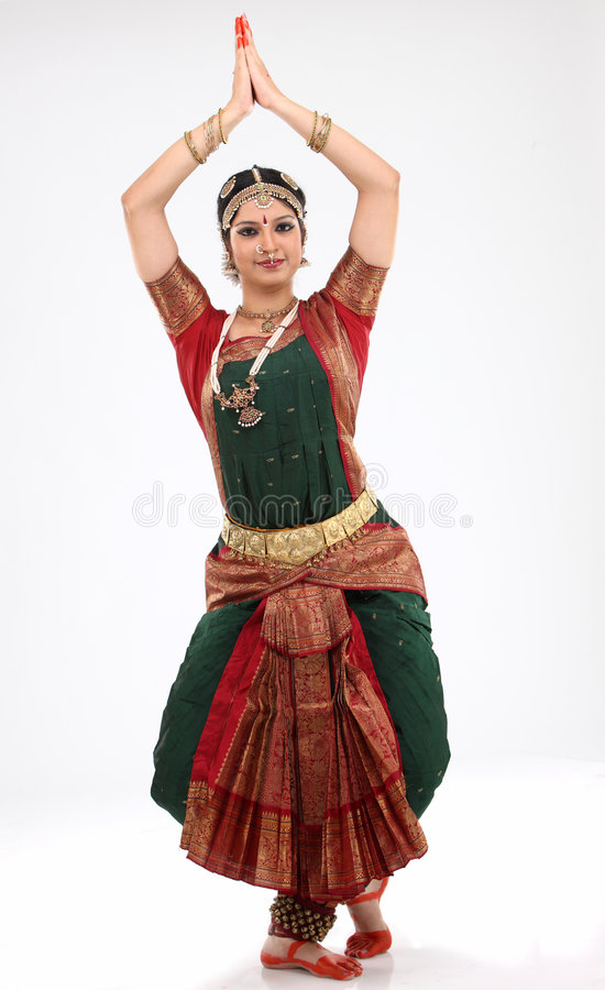 Tradition woman doing traditional dance stock images