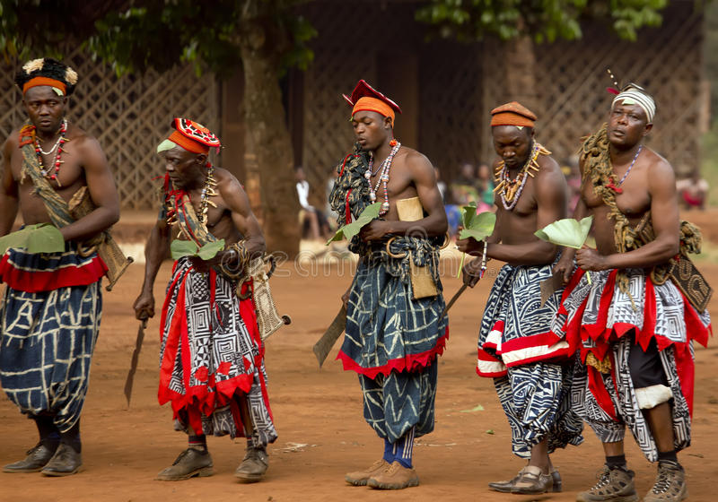 Traditional African Dance royalty free stock photo