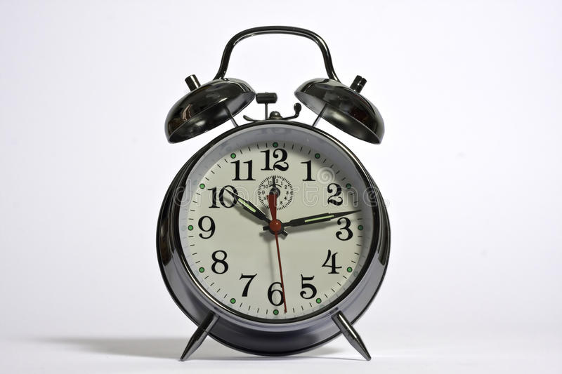 Download A Traditional Alarm Clock Royalty Free Stock Photos - Image: 11522288