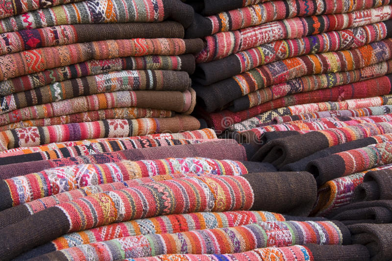 Traditional Andean Tapestry. From Northern Argentina and Bolivia royalty free stock photography
