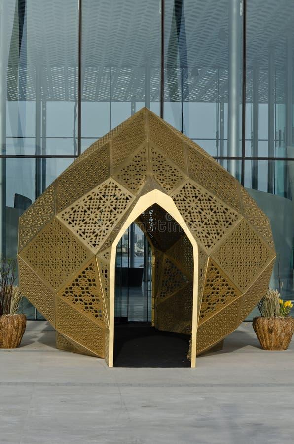 Modern arabic motives stock image