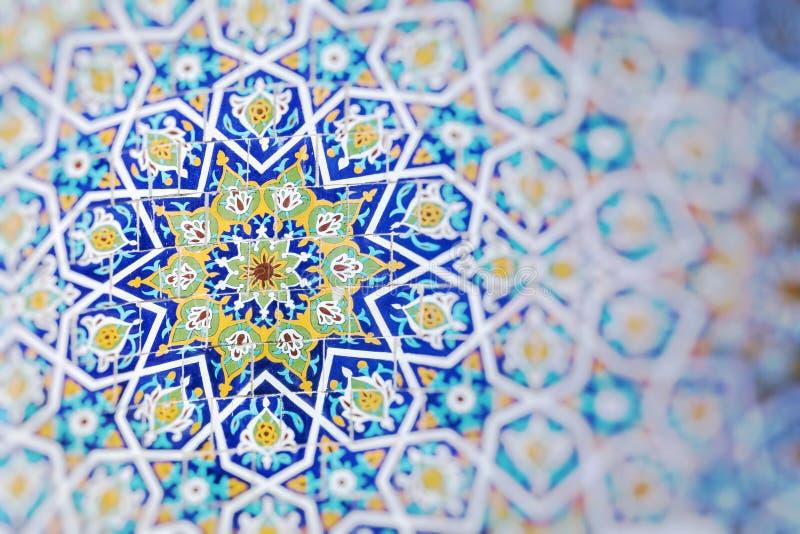 Traditional architecture in Uzbekistan. Uzbekistan ethnic ornament. royalty free stock photo