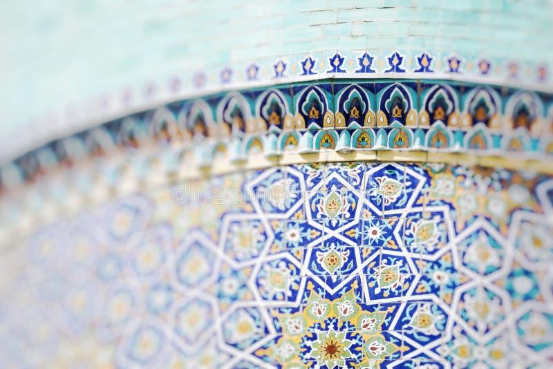 Traditional architecture in Uzbekistan. Uzbekistan ethnic ornament. stock photos