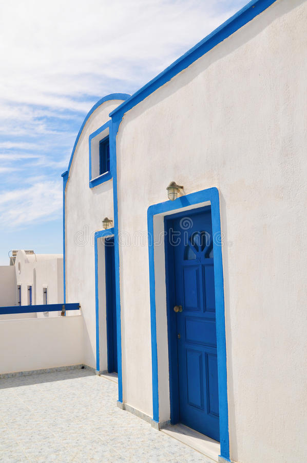 Traditional architectures in Santorini