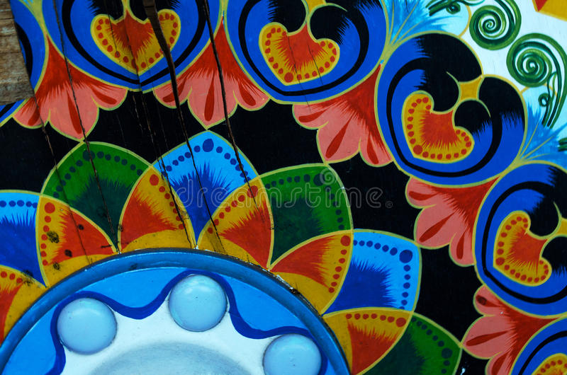 Traditional art design - Costa Rica royalty free stock images