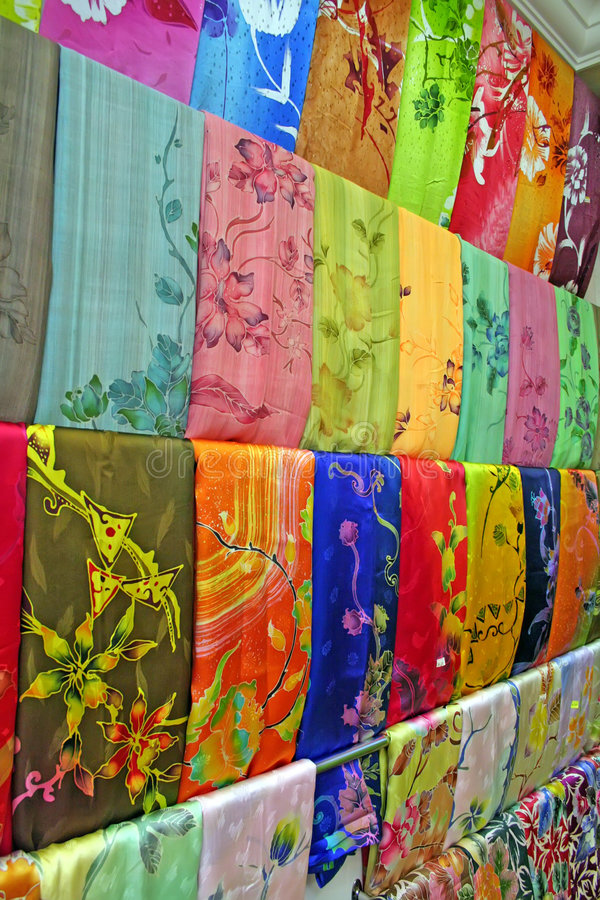 Download Traditional asian fabrics stock image. Image of dress - 3058563